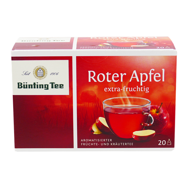 Bünting Tee Roter Apfel